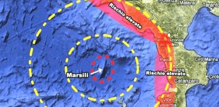 Golfo di Policastro, Cnr: «Un altro vulcano oltre il Marsili» - Gwendalina.tv