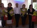 Il Parmenide saluta le docenti che vanno in pensione - Gwendalina.tv