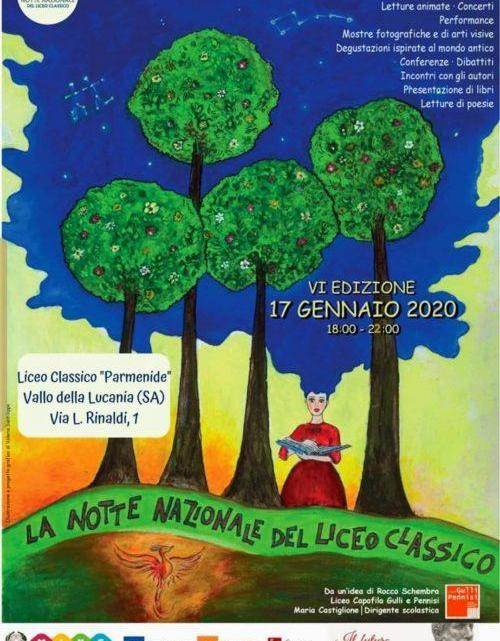 """La lunga Notte Bianca del Liceo Classico """"Parmenide"""" - Gwendalina.tv"""
