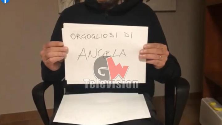 Tutta la comunità di Cuccaro per Angela, l'infermiera contagiata - Gwendalina.tv