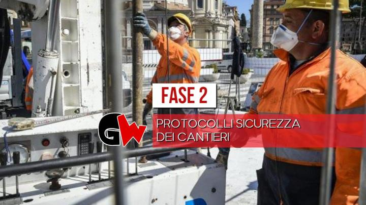 COVID-19, protocolli di sicurezza per i cantieri - Gwendalina.tv