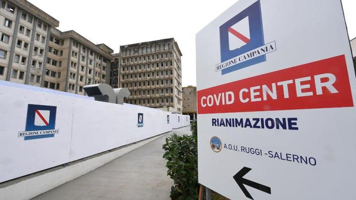 "Salerno, aperto il Covid Center del ""Ruggi"" - Gwendalina.tv"