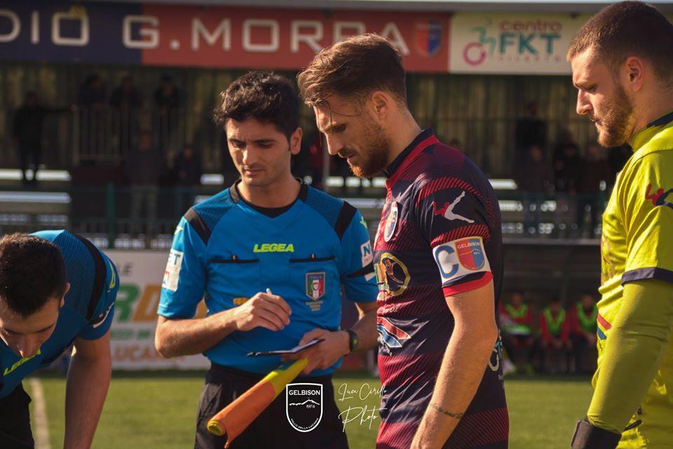 """Gelbison, parla il capitano Uliano: """"Speriamo di riprendere"""" - Gwendalina.tv"""