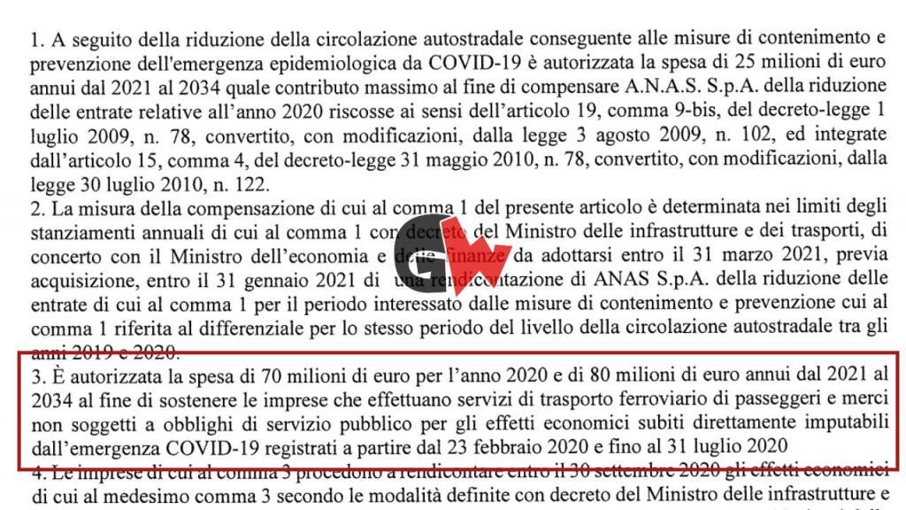 DL Rilancio, lo Stato paga 25 mln all'anno fino al 2034 ANAS per 2 mesi di lockdown - Gwendalina.tv