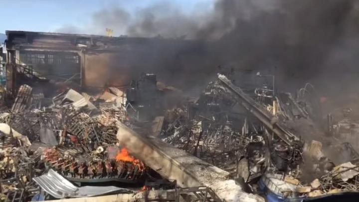 Esplosione in fabbrica, un morto - Gwendalina.tv