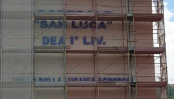 Ospedale Vallo della Lucania Agropoli San Luca Insegna scritta