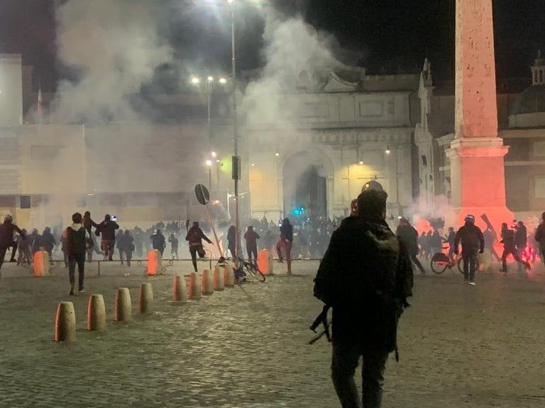Coprifuoco, proteste anche a Roma - Gwendalina.tv
