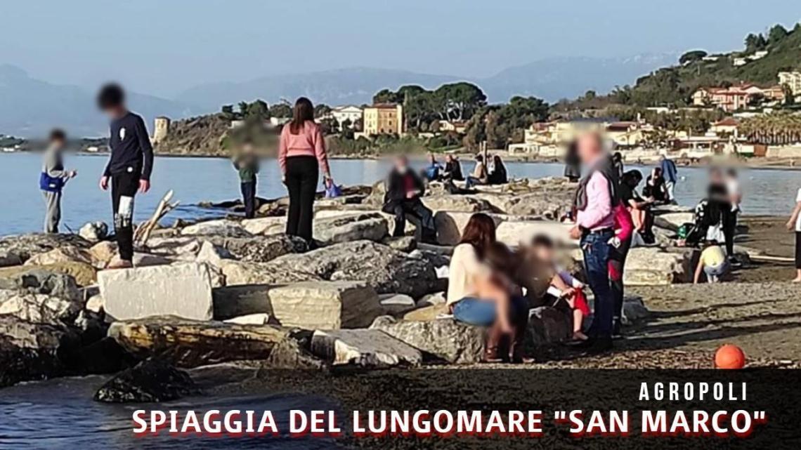 Agropoli, spiagge prese d'assalto per il primo anticipo di primavera - Gwendalina.tv