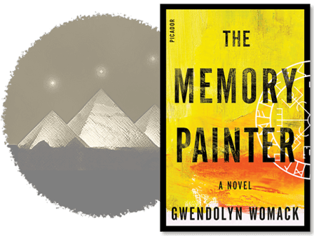 The Memory Painter, a reincarnation thriller