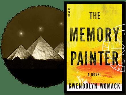 The Memory Painter, a reincarnation thriller
