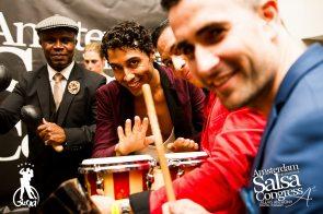 The Latin artist jam session