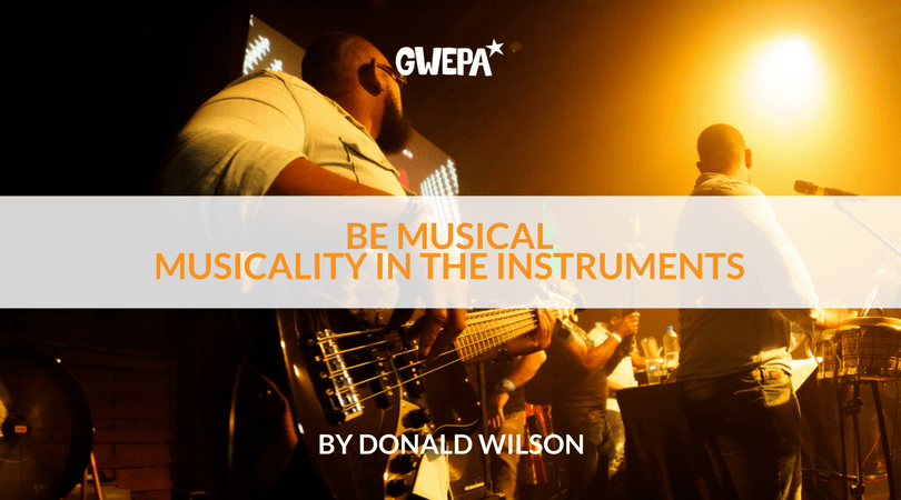 Be Musical: Musicality in the instruments