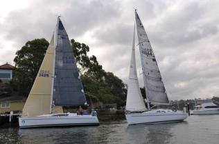 Elan 340 G-whizz ahead of KoKo Elan 37