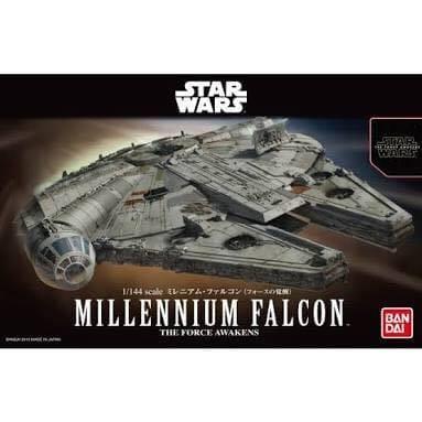 Unboxing dan Review Model Kit Millennium Falcon Star Wars Plamo Bandai GwiGwi - 1