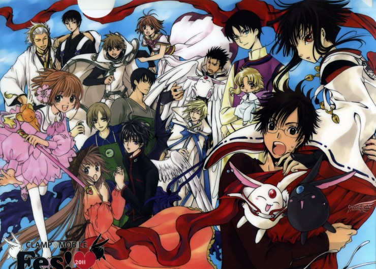 Anime Crossover - CLAMP Crossover