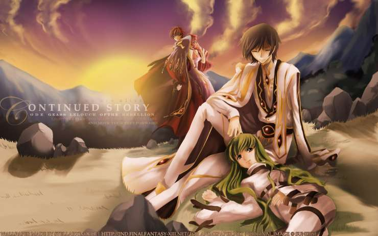 Continued Story – Code Geass
