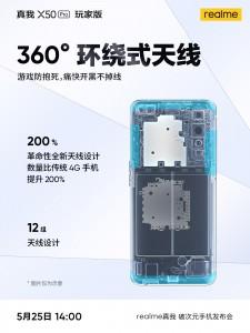Tetapi koneksi LTE akan bagus dan stabil dengan cakupan antena 360 °