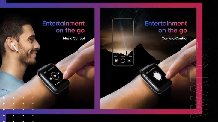 Realme Watch mengumumkan: 1.4 '' layar sentuh berwarna, monitor SpO2, dan baterai hingga 9 hari