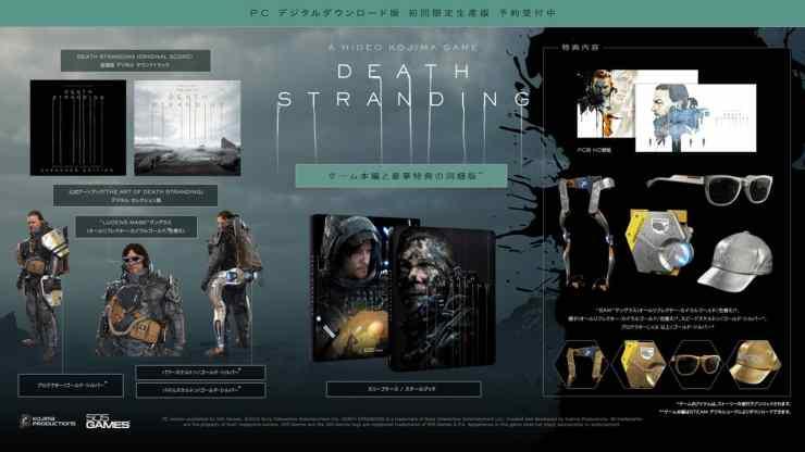Death Stranding PC Edisi Pertama