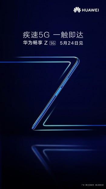 Huawei Enjoy Z 5G datang pada 24 Mei