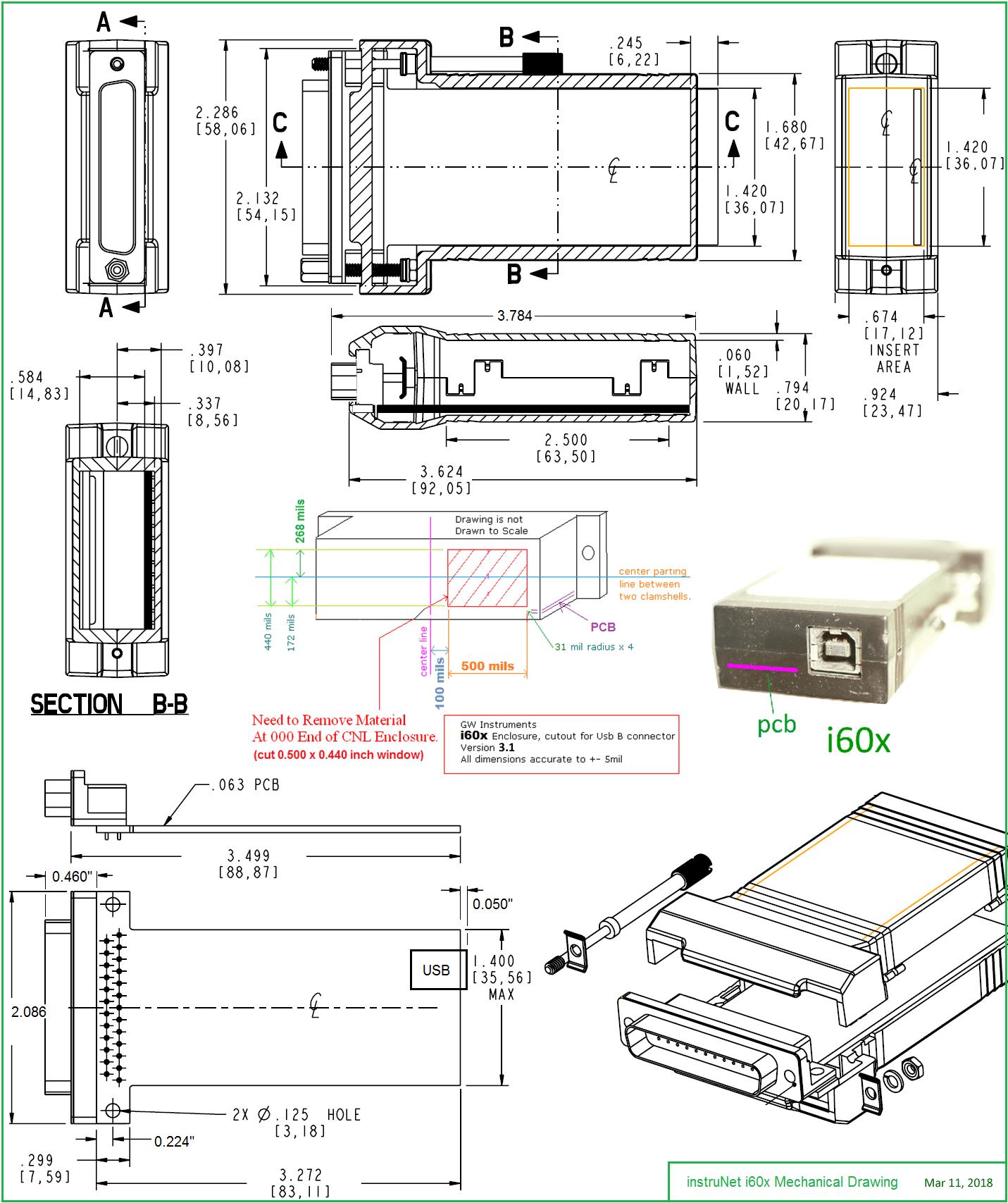 Instrunet Inet 600 Amp Inet 601 Usb Data Acquisition