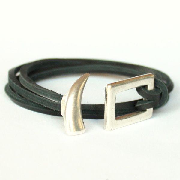 bracelet cuir homme plusieurs tours