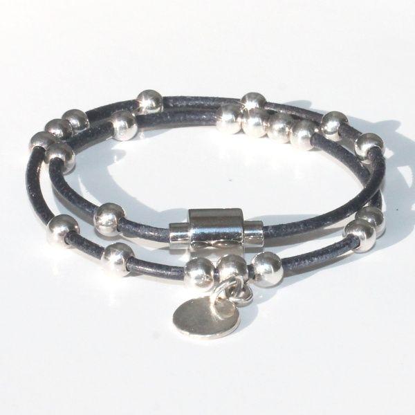 bracelet fille cuir