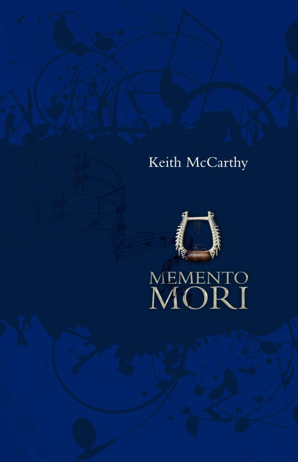 Memento Mori, by Keith McCarthy, front cover image.