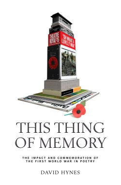 This Thing of Memory, by David Hynes, front cover image