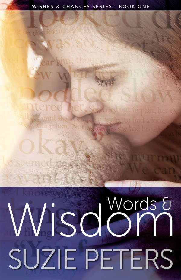 Words and Wisdom, by Suzie Peters, front cover image.
