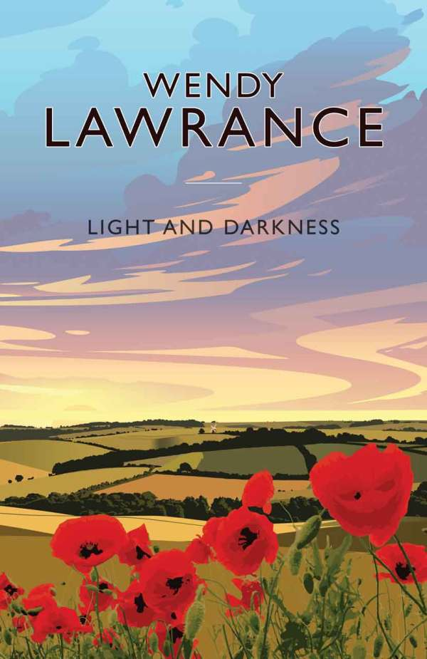 New front cover graphic image for Light and Darkness by Wendy Lawrance.