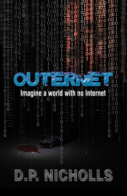Outernet, by D P Nicholls, front cover image.