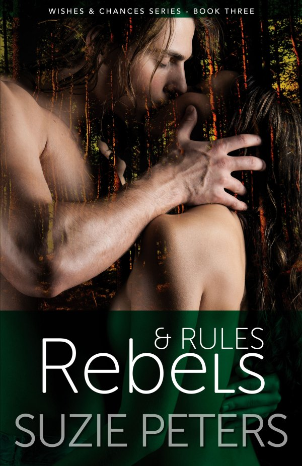 Cover of Rebels and Rules by Suzie Peters graphic image.