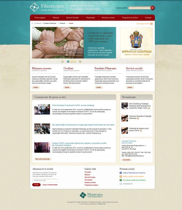 fundatia filantropia site gratuit