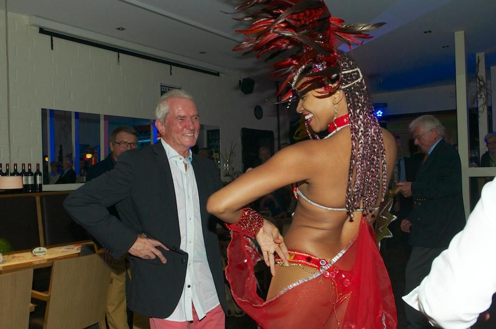 Die ersten Sambaschüler