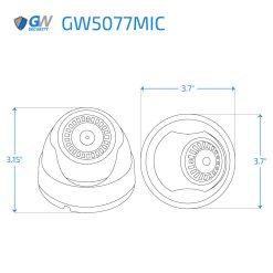 5077MIC dimensions