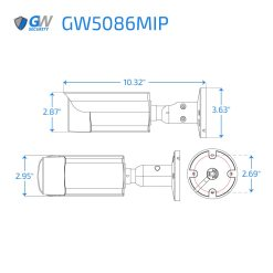 5086MIP dimensions