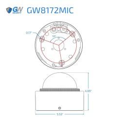 GW8172IP dimensions