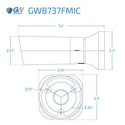 8737FMIC dimensions