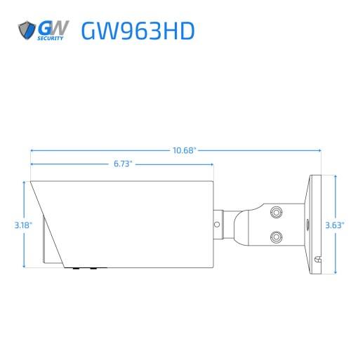 963HD dimensions