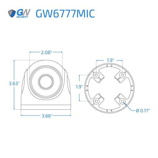 6777MIC dimensions