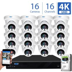 8093fmic 16 Channel 16 Camera 8MP IP PoE Security Camera System