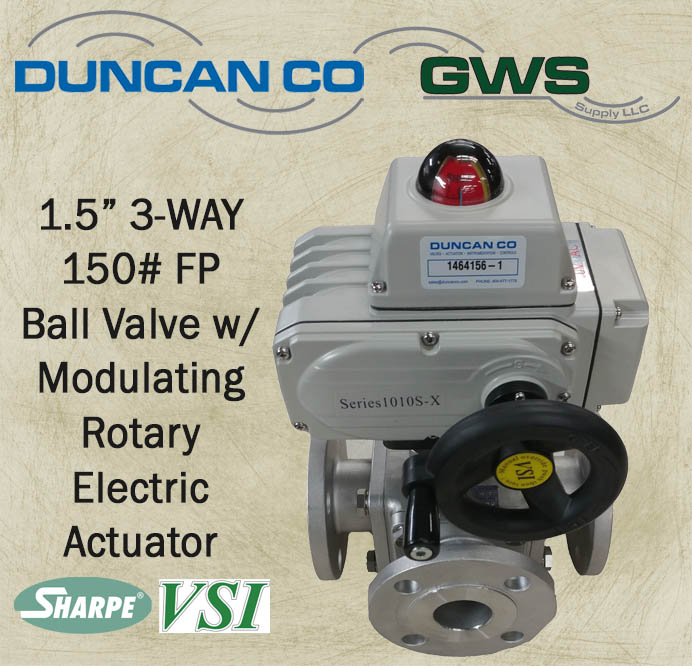 3 way electric polaris snowmobile wiring diagram mixing actuated ball valve with sharpe vsi available at gws supply