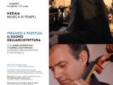 """Concerto """"Piranesi a Paestum: il suono dell'architettura"""" con Aurelio Bertucci e Gabriel Zuchtriegel"""