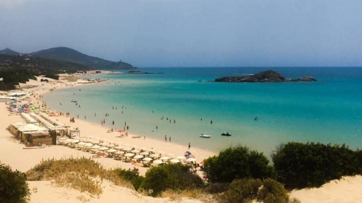 Palinuro, Spiaggia Marinella è una delle più belle d'Italia