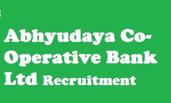 Abhyudaya Bank Clerk Recruitment 2018