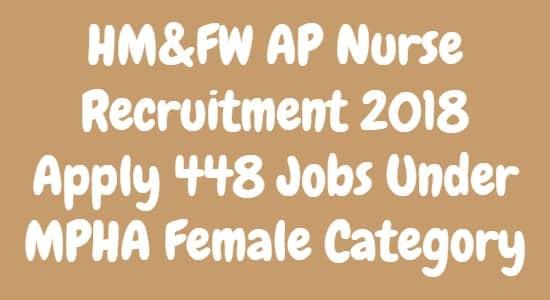 HMFW AP Nurse Recruitment