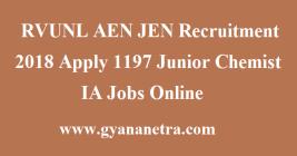 RVUNL AEN JEN Recruitment