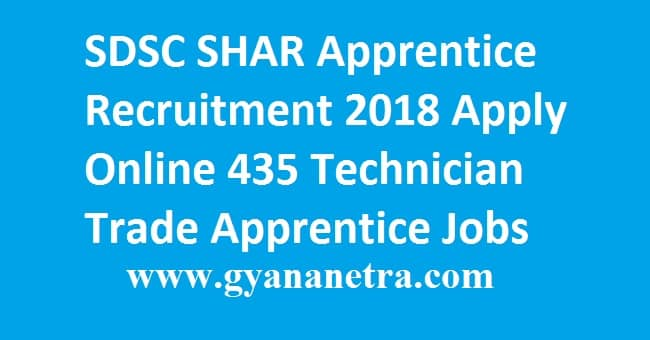 SDSC SHAR Apprentice Recruitment 2018