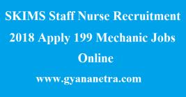 SKIMS Staff Nurse Recruitment